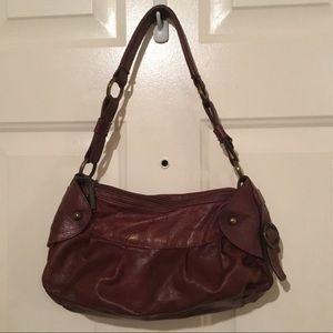 Vera Pelle Italian Leather Shoulder Bag